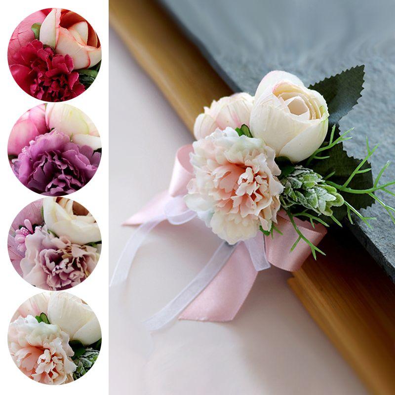 Bouquet Sposa Garofani.Acquista I Boho Rustico Fiore Fiore Allocchiello Gli Uomini