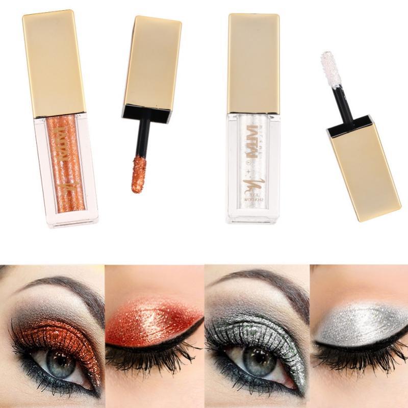 Diamond Glitter Liquid Eyeshadow Beauty Makeup Cosmetics Shimmer Eye Shadow Waterproof Products