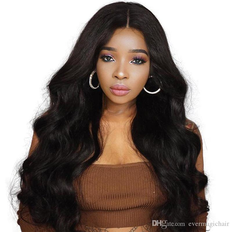 13 4 Lace Front Human Hair Wigs For Women Brazilian Body Wave Lace Frontal Wig Pre Plucked With Baby Hair Remy Hair Bleached Knots From Evermagichair 146 39 Dhgate Com
