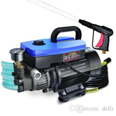 Autowaschanlage, 220V Haushaltshochdruckreiniger, selbstansaugender Reiniger, Wasserstrahlbürstenpumpe, Waschpumpe