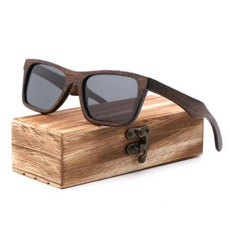 Brand Promotions Retro men polarized sunglasses Good quality bamboo wood handmade sun glasses Women gift bamboo box wooden