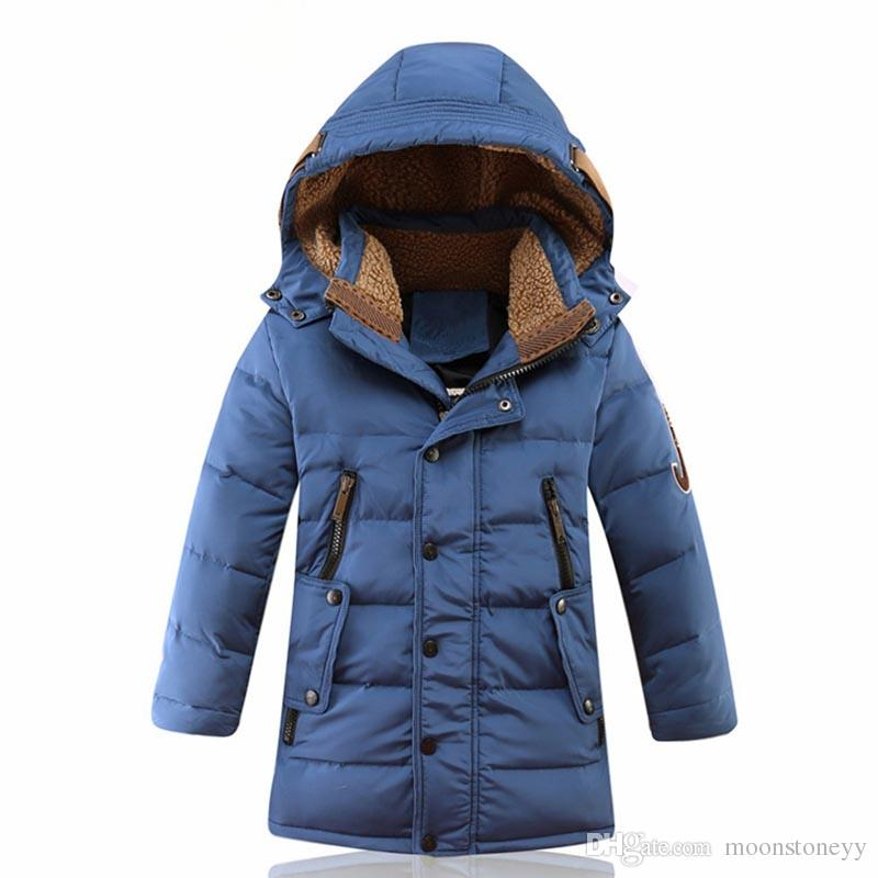Children Clothing Set White Duck Down Jacket+Jumpsuit Sets Winter Suits for Girls Kids Ski Suit Winter Overalls