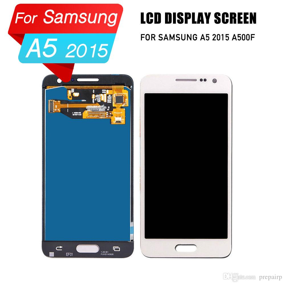 PrepairP LCD digitizer screen for samsung A5 2015 A500F lcd screen touch screen assembly for samsung A5 2015 lcd display
