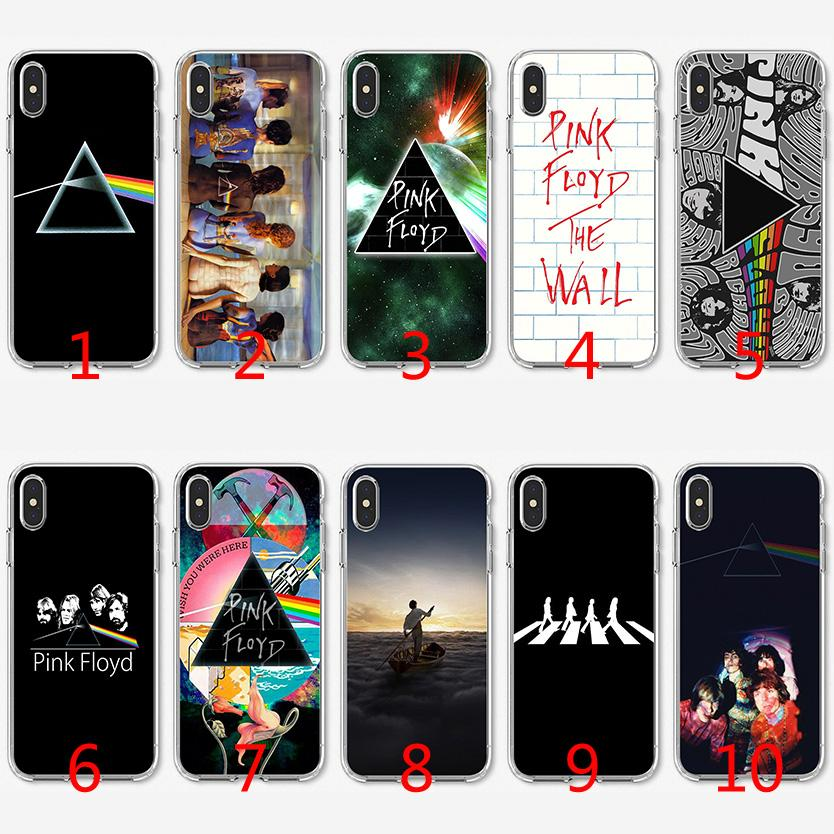Pink Floyd Soft Silicone TPU Case For IPhone X XS Max XR 8 7 ...