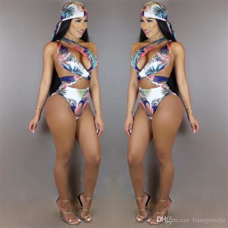 المرأة آخر صيحات الموضة الخصر ضمادة وشاح بيكيني البدلة سيدة سبليت ثلاثة قطعة مجموعة ملابس السباحة هوليداي بيتش ملابس 38hb W
