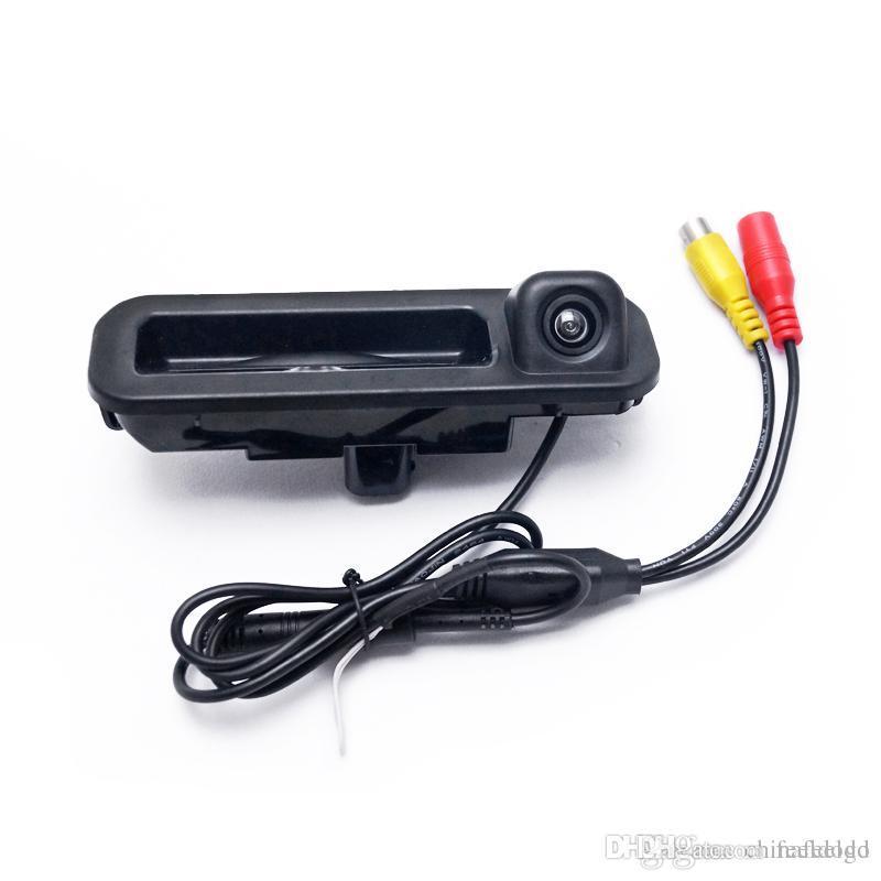 оптовая заднего вида парковки Ствол ручки камеры для Ford Focus 2012 2013 Фокус 2 Фокус 3 Резервное копирование камеры # 4684