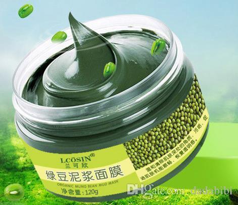 Mung bean пополняя влагу воды черная маска чистый контроль масла вода увлажнение легкая кожа освежающий уход за кожей продукты