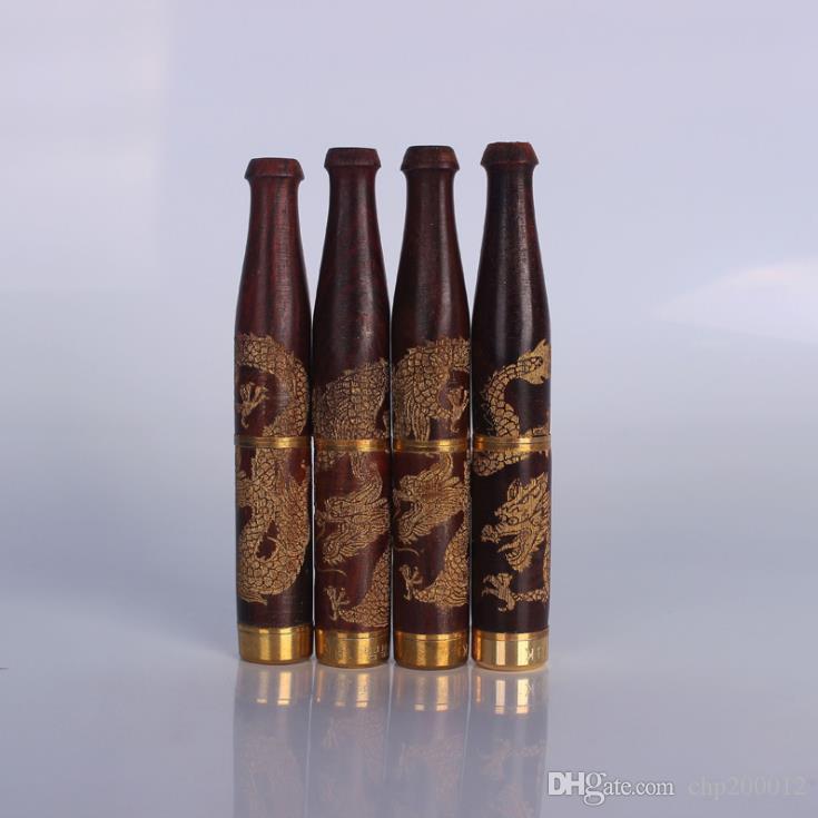 Sigillante intagliato per intaglio del filtro rimovibile in legno massello di drago rosso