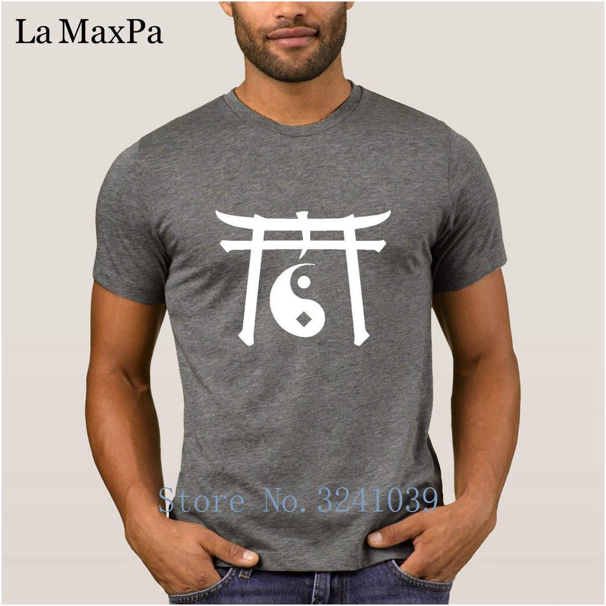 Nova Camiseta 100% Algodão de Manga Curta Verão Tshirt Para Homens Skan Ying Yang T-Shirt dos homens de Cor Sólida Em Torno Do Pescoço Tee Tops