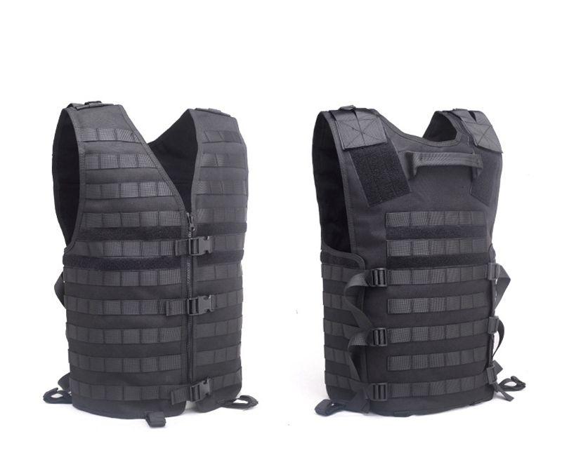 Outdoor durevole tattica di Molle Vest 900D Caricamento maglia dell'elemento portante la sicurezza nello sport Airsoft della maglia con idratazione tasca Gilet tattici