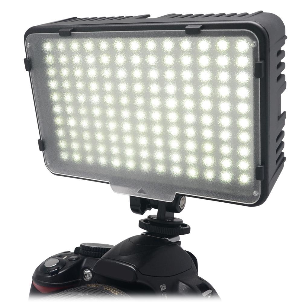wholesale 130 LED Video Photography Light Lighting for Canon Nikon Sony Panasonic Olympus Pentax & DV Camera Comcorder VS CN-126