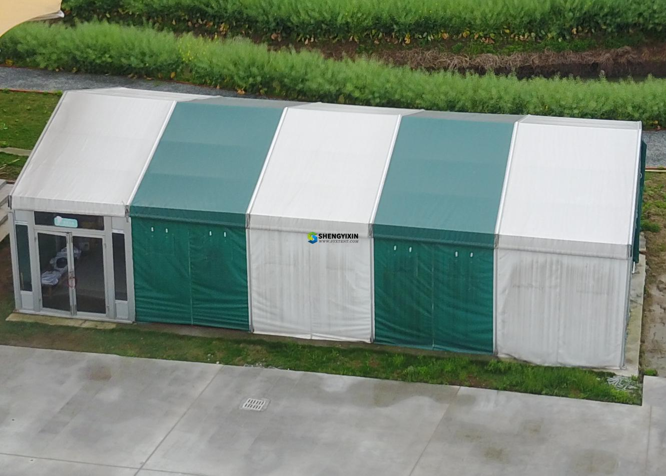 Aluminum Structure Warehouse Commercial Tent Waterproof high quality aluminum outdoor garden marquee event party tent 10 x 20
