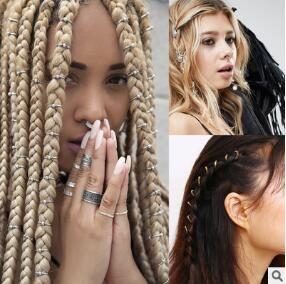 Europa grenzüberschreitende Dachrinne Kopf Haarspangen Multi afrikanischen Zopf Schmuck Party Haar Zubehör Werkzeuge Free-Versand HA056