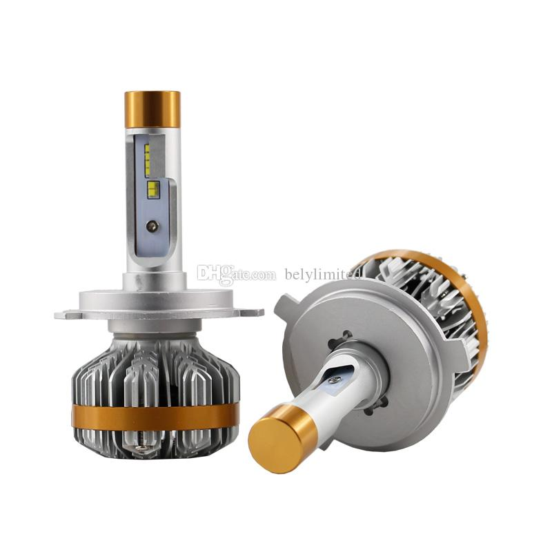 Z7 Led Headlight Bulbs 1pair H4 H7 9004 9007 H13 60W 7000LM Turbo Fan Cool White 6500k Truck Repleacment Kits LED Headlamp Bulb