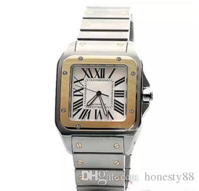 Limited quantity Car Sans series W200728G wrist mens watch automatic movement white face 316L steel original strap watch men