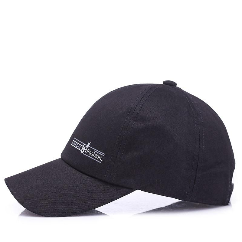 08298c5a2c Onne&Kas Sports Cap Mens Hat For Fish Outdoor Fashion Line Baseball Cap  Long Visor Brim Shade Snapback Sun Hat Trucker Cap Snapback Caps From ...