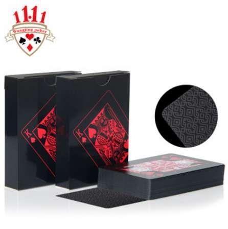 Водонепроницаемый ПВХ покер карты Игральные карты покер-новинка коллекции казино покер карты для магии вечеринку забавные подарки-игры