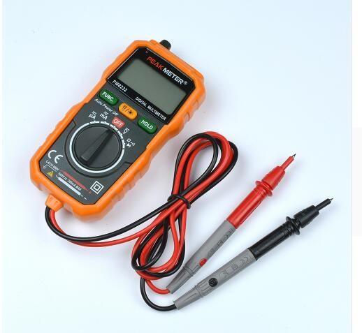 Yeni Sıcak Satış Temassız Mini Dijital Multimetre DC AC Gerilim Akım Test Cihazı PM8232 Ampermetre Çok tester