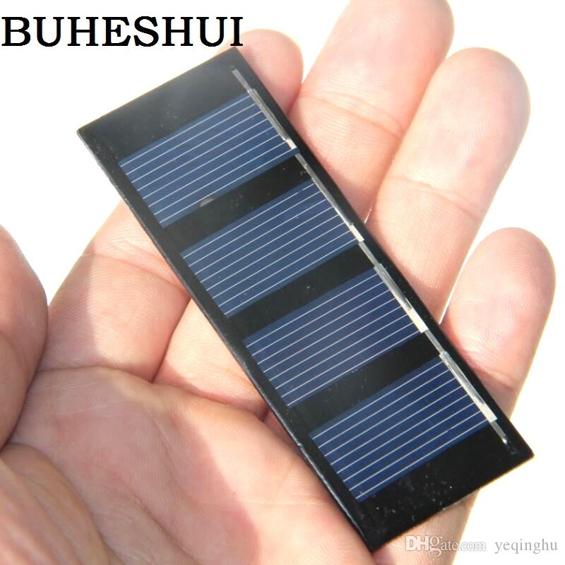 Wholesale 1000pcs/lot Solar Panels 2V 0.2W Mini Solar Cell For Small Power Appliances Solar Toy Panel Education Kit