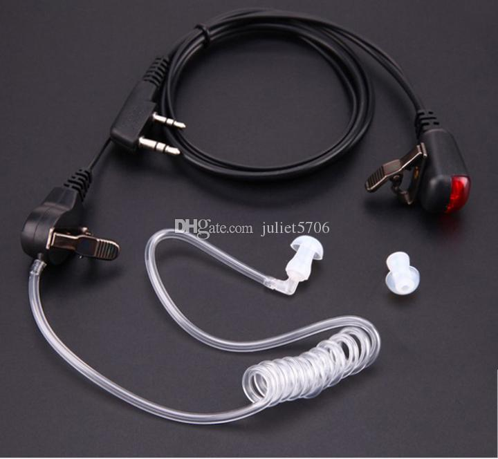 10x Security G Shape Soft Ear Hook Earpiece Headset Mic PTT For BaoFeng UV-5R UV-5RA UV-5RE Plus UV-B5 Two Way Radio