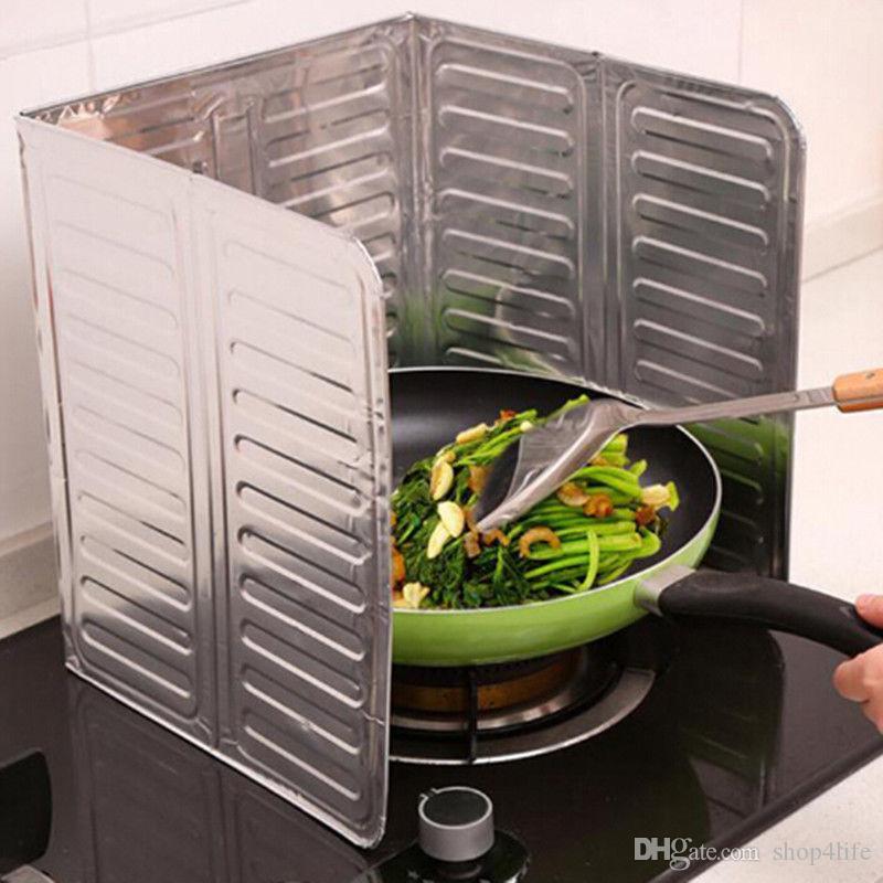 Ev Folyo Mutfak Yemek Bar Pişirme Yağı Sıçrama Guard Gaz Sobası Kaldırma Haşlanma Geçirmez Kurulu 3913