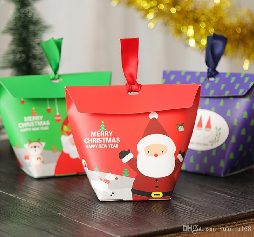 Christmas Gift Boxes Christmas Elements Gift Paper Box Candy Bag Ga490 Gift Wrapped Box Gift Wrapped Boxes From Yuanjiu168 24 13 Dhgate Com