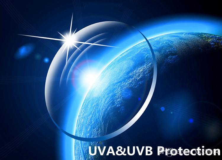 Verres UV-Blue RX-lentilles sur mesure Lunettes personnalisées 1,67 ultra-légères sur ordonnance verres de myopie asperiques
