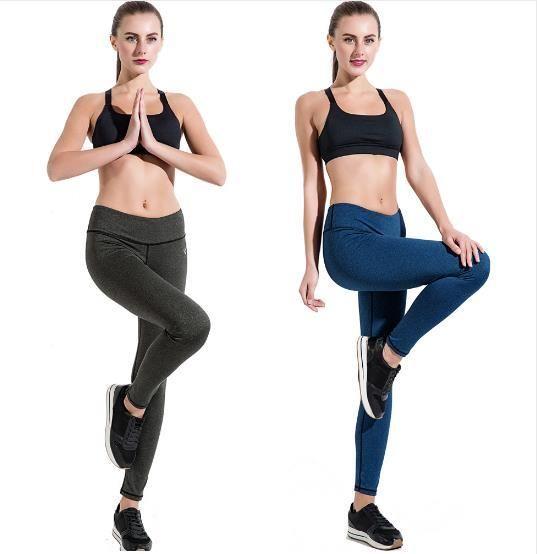 Yoga Pantalon Haute Élasticité À Séchage Rapide Fitness Courir Legging Femmes Sport Porter Professionnel Gym Workout Sportswear Sport Collants