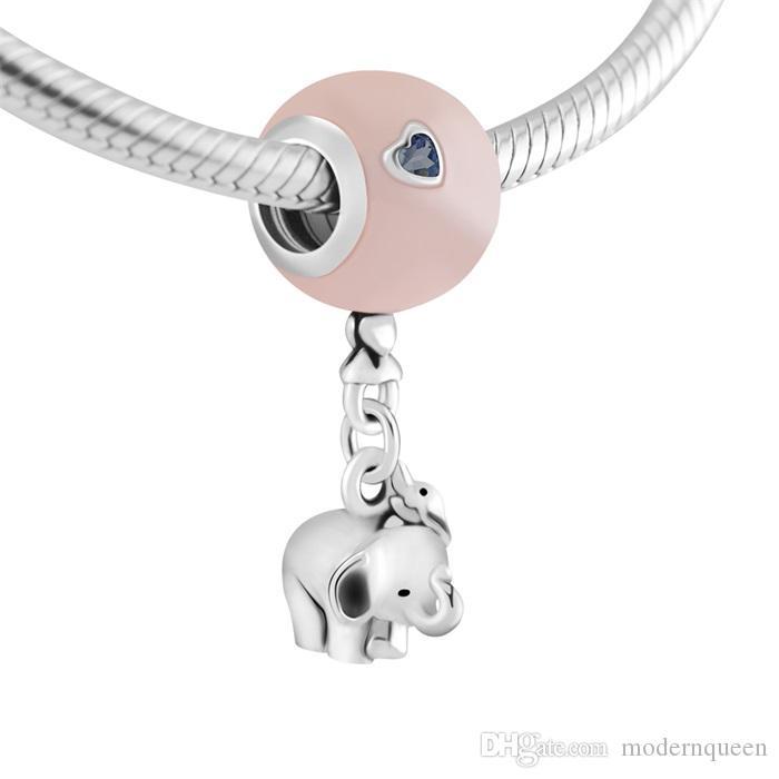 pandora elefante charm portafortuna