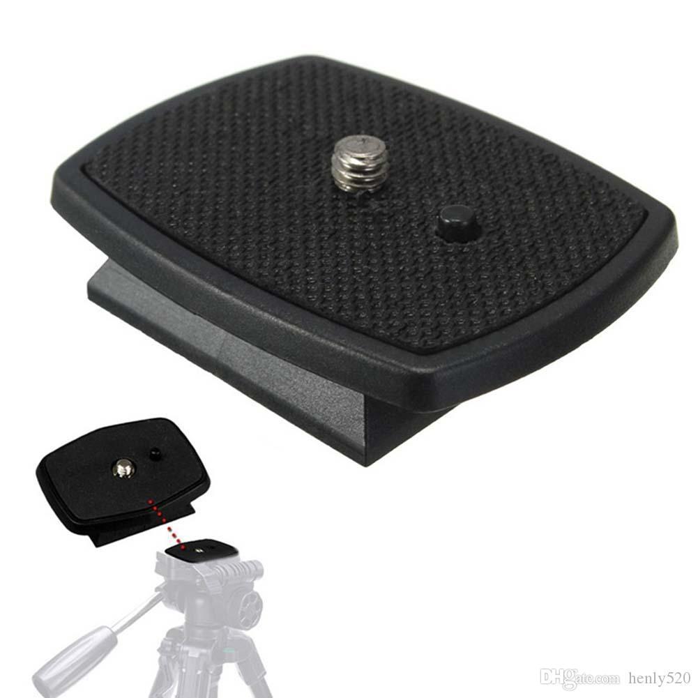 삼각대 빠른 릴리스 플레이트 나사 어댑터 디지털 카메라 DSLR SLR 용 마운트 헤드 양질 새로운