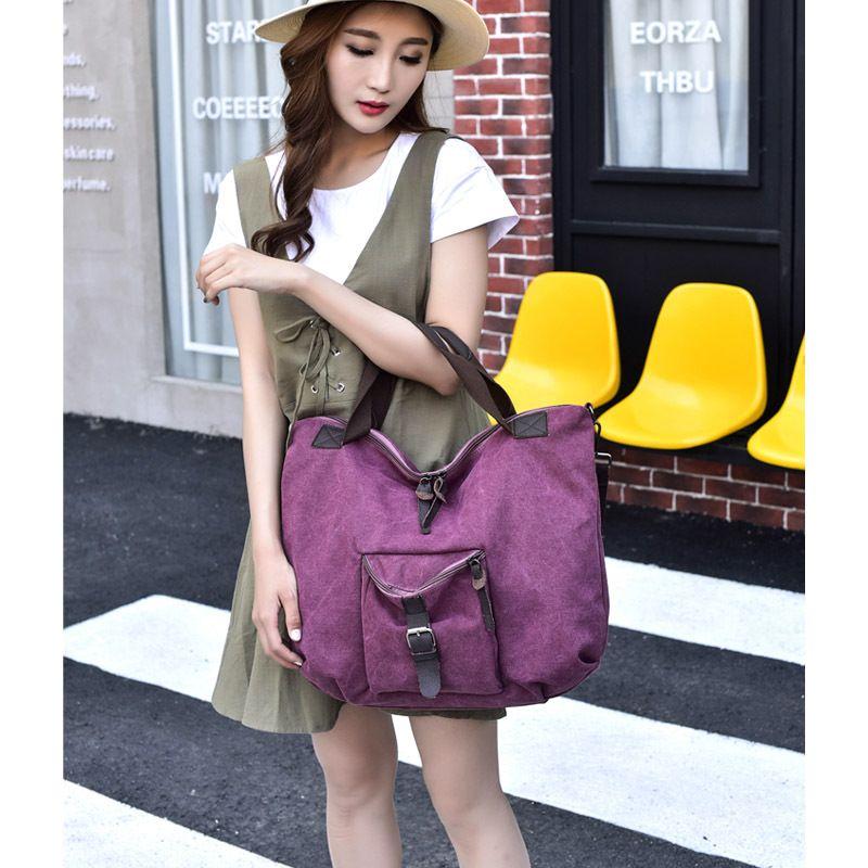 Portable Travel Bag Feel Good Man And Women High Quality Handbag Literary Lady Canvas Bags 29 5hj Ww