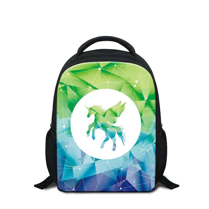 Cute Candy Color School Backpacks For Little Girls Boys 3D Unicorn School Bag Animal Schoolbags For Children Kids Mini Rucksacks Sac A Dos
