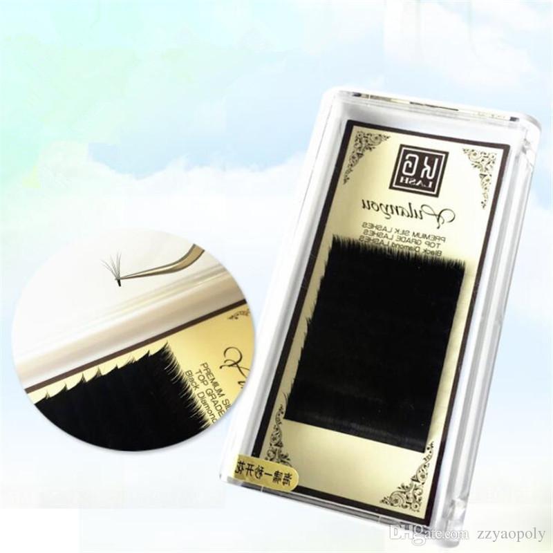 New Arrival Eyelash Extensions B C D J Curl 0.05mm Individual Lash Professional Black Individual Mink Lashes