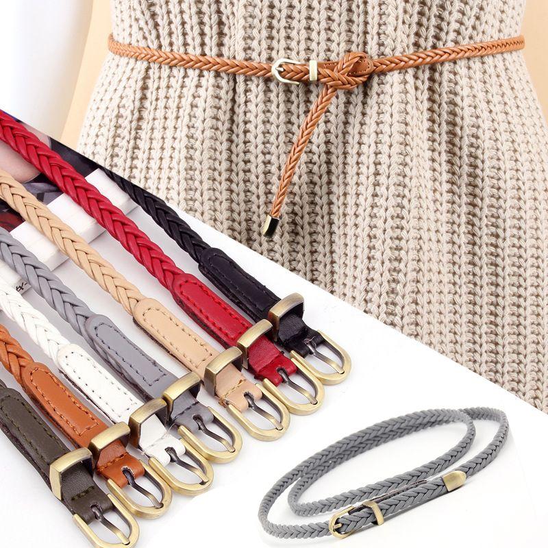 Frauenhand Strickgürtelschnalle Retro Casual Taille Seil Dekoration Großhandel