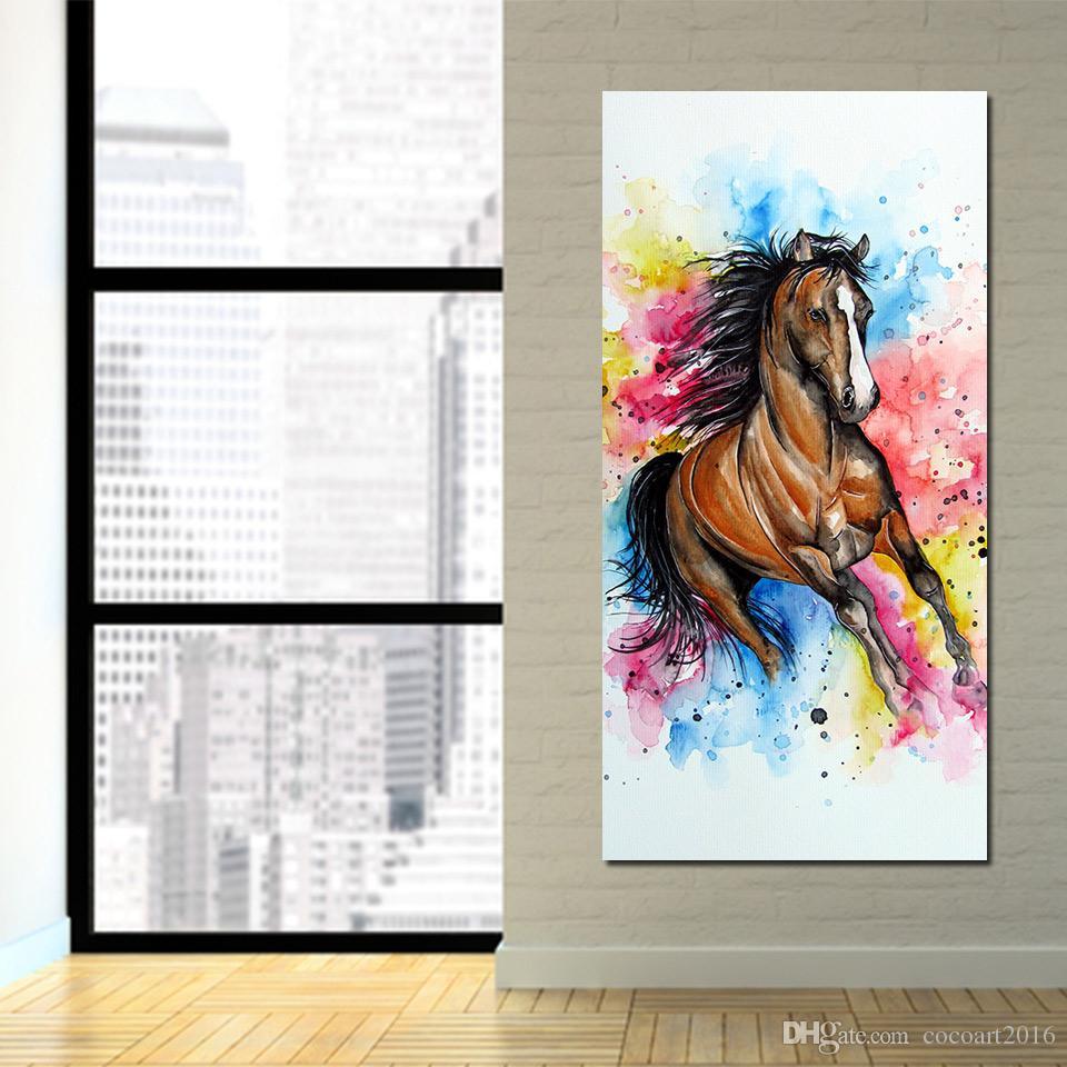 Modulare Bilder 1 panel Steed Leinwand malerei Wandkunst Bild Home Decoration Bilder Für Wohnzimmer Drucken Gemälde