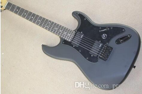 أعلى جودة رخيصة الثمن GYST-1031 ماتي أسود اللون الأسود لوحة روزوود الأصابع لطيفة st الغيتار الكهربائي ، تخصيصها ، شحن مجاني