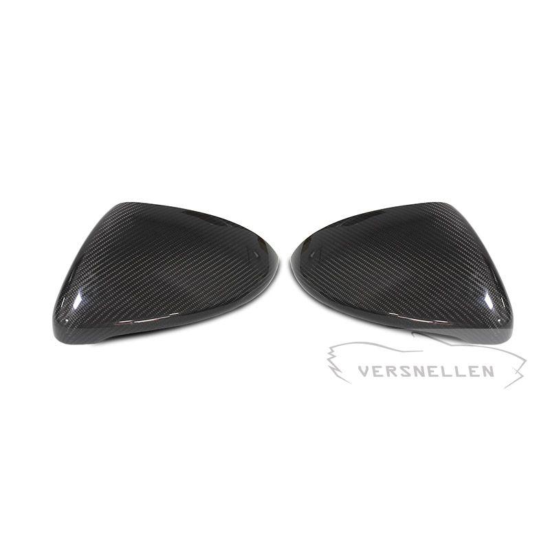 Гольф углерода зеркало крышки OEM Fitment боковое зеркало Крышка для Volkswagen Golf Mk7 Touran 2014 2016 2017 1:1Replacement