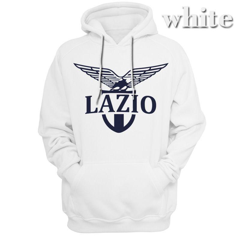 Sweats à capuche homme ITALIA Biancocelesti Lazio club FC Sweat à capuche Vêtements de loisirs Vêtements de mode Printemps Saison Automne