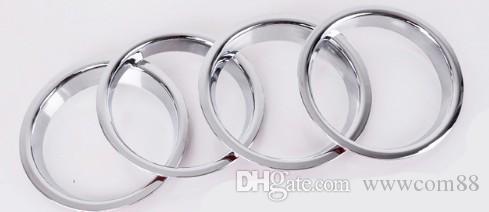 Adesivos de carro de porta estéreo Speaker ABS cromado decoração lantejoulas para Nissan Qashqai J10 2006-2012