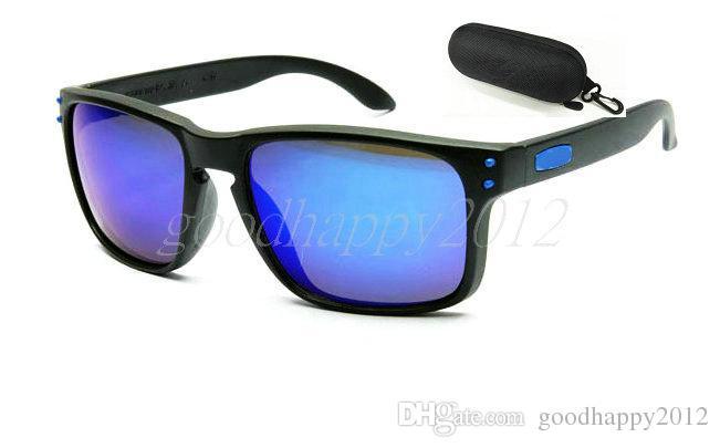 1PCS mit Kasten und sauberem Tuch! Bester Verkauf neue Designer-Sonnenbrille der Männer Sonnenbrille-im Freiensport-Brillen-Schutzbrillen Sun-Glas.