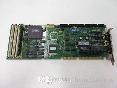 PCA-6137 486/386 INDUSTRIAL CPU CARD carte mère testé en fonctionnement