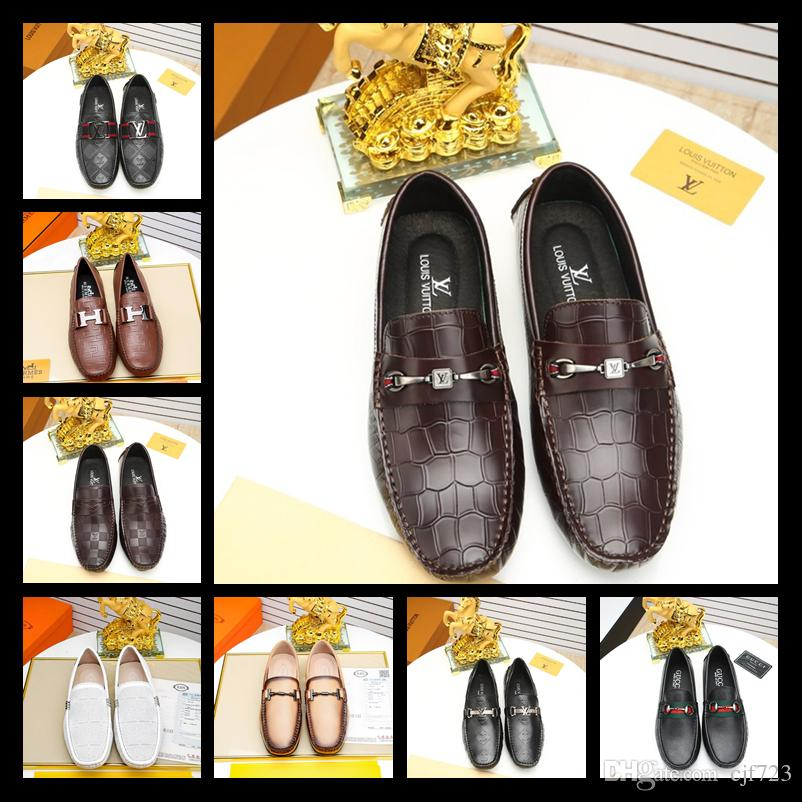 2018 Harpelunde Medusa hebilla zapatos de vestir para hombres picos zapatos de boda azul terciopelo zapatillas de cuero forro envío de la gota libre tamaño 38-44