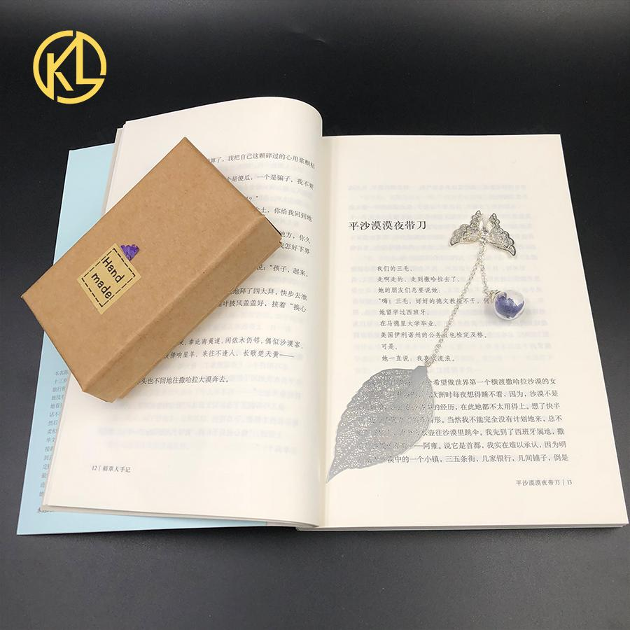 1 Pcst творческие подарки металлические закладки для книг с бабочкой и цветочными аксессуарами школа канцелярские книги марок