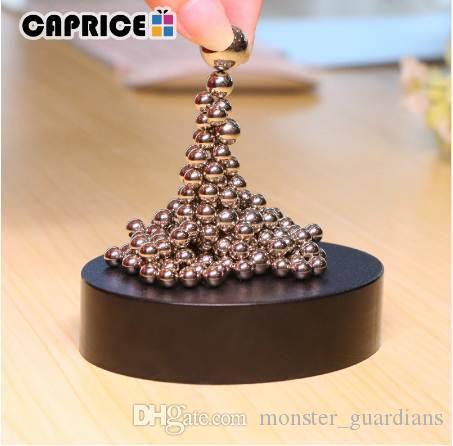 Mıknatıs Metal Toplar Basınç Bırakma Oyuncak Demir Süsler Ev Dekorasyon Aksesuarları Değiştirilebilir Playthings CLBJ