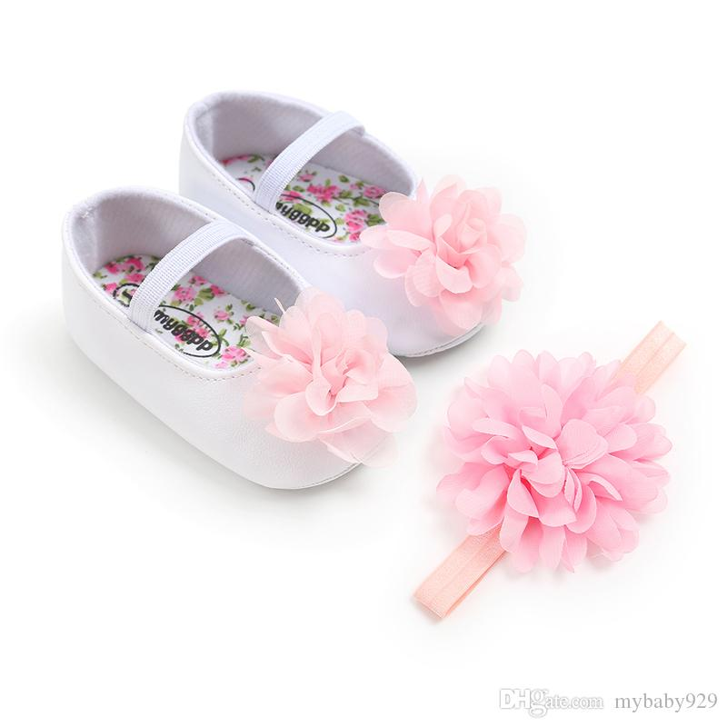 Hairband Baby Girl Birthday Party Shoes UK Baby Girls Shoes First Walkers