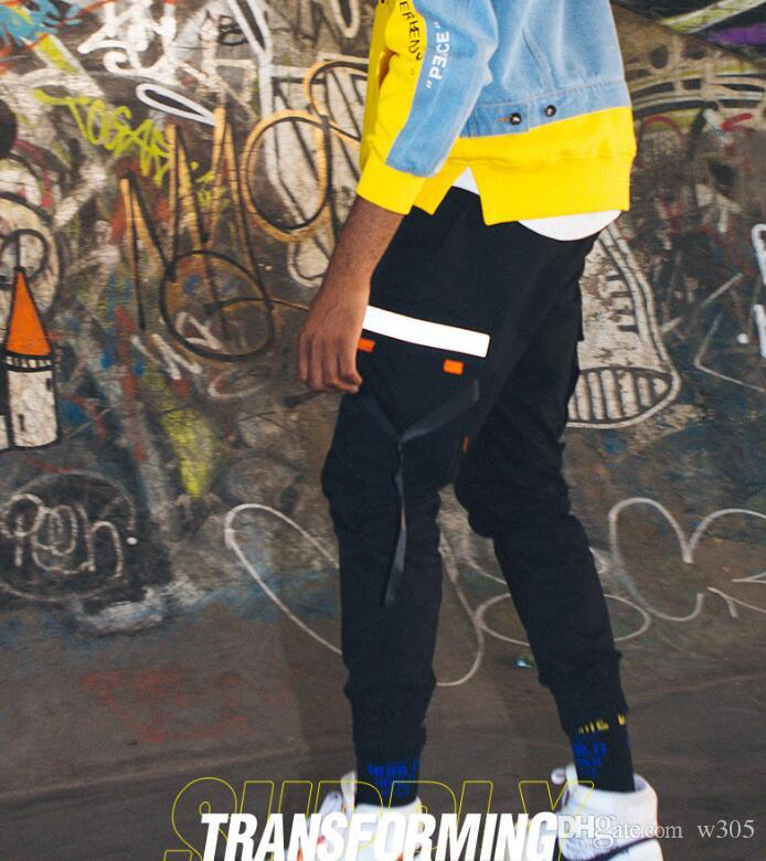 Youth cotton Cargo Pants sweatpants hip hop pants fashion casual pants free shipping quality assurance