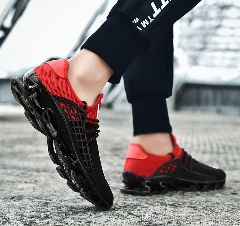 RAGF Shoes Black Red Running Shoes