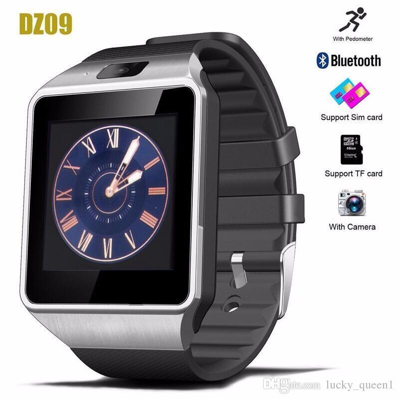 DZ09 Smart Watch DZ09 Wristwatch Wristband Android Watch Smart SIM Intelligent Mobile Phone Sleep State Smart watch Retail Package