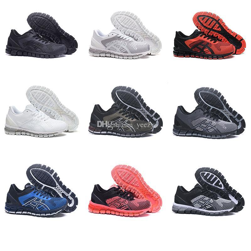 جل-الكم 360 KNIT أحذية رياضية عالية الجودة محبوك للجنسين الدانتيل متابعة الأزياء عدم الانزلاق تنفس الاحذية أحذية التدريب