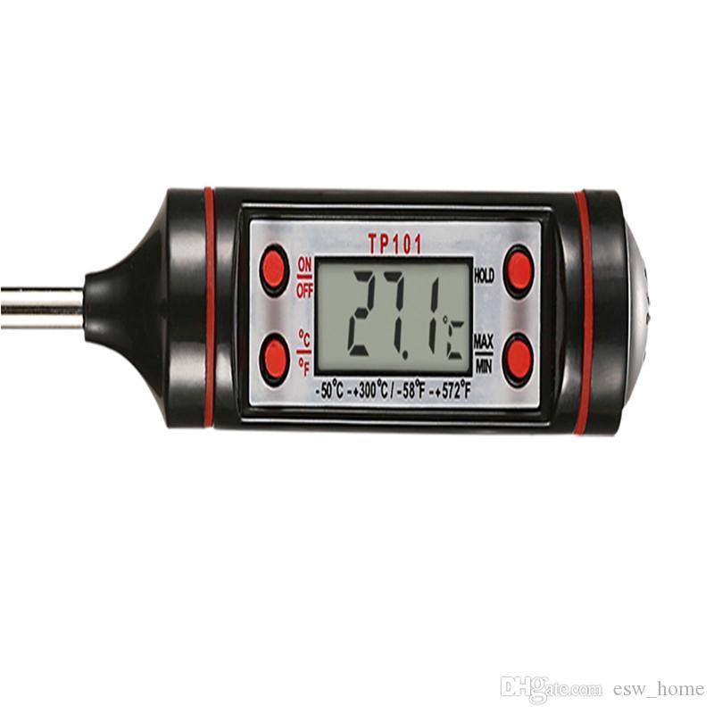 Цифровой пищевой термометр ручка стиль кухня барбекю столовая инструменты измерения температуры инструменты кулинария Termometro портативный цифровой